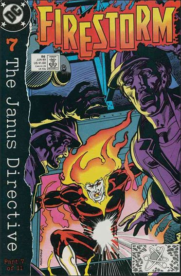 Firestorm The Nuclear Man (1987) 86-A by DC