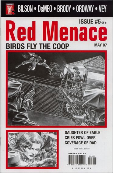 Red Menace 5-A by WildStorm