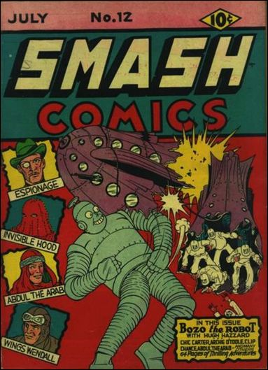 Smash Comics (1939) 12-A by Quality