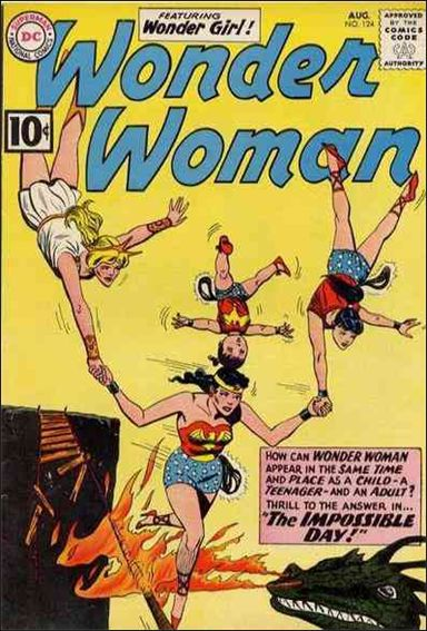 Wonder Woman (1942) 124-A by DC