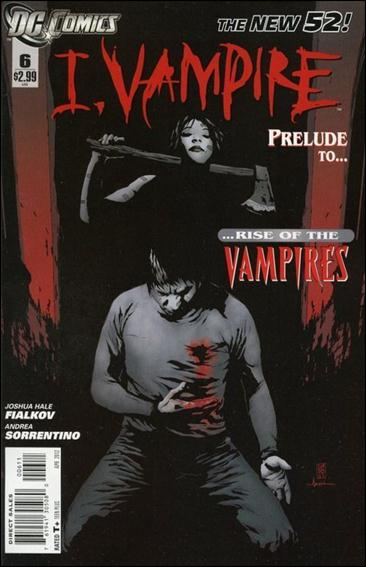 I, Vampire 6-A by DC