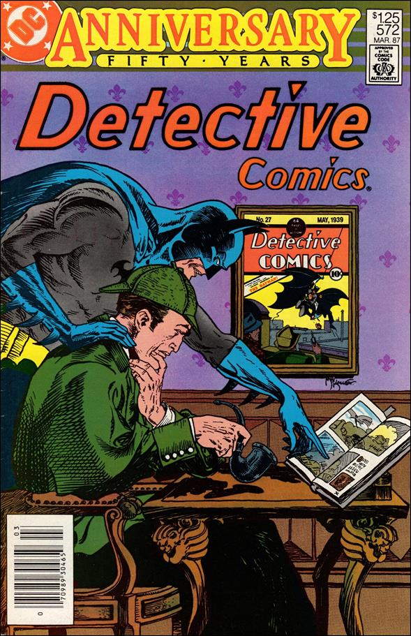 Detective Comics (1937) 572-A by DC