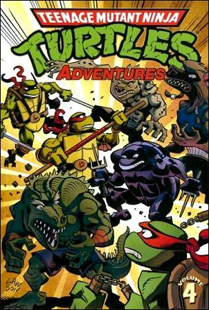 Teenage Mutant Ninja Turtles Adventures (2012)  4-A by IDW