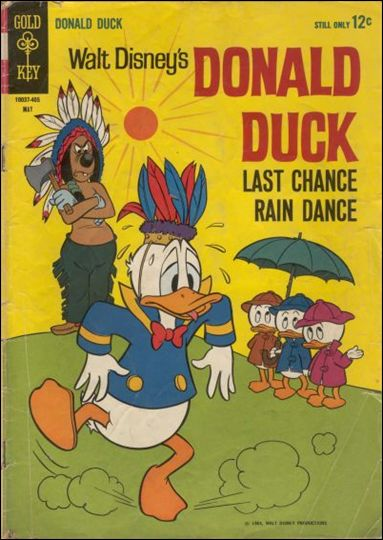 Walt Disney's Donald Duck (1952) 94-A by Gold Key