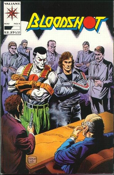 Bloodshot (1993) 4-A by Valiant