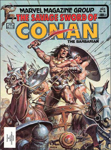 Savage Sword of Conan (1974) 90-A by Marvel