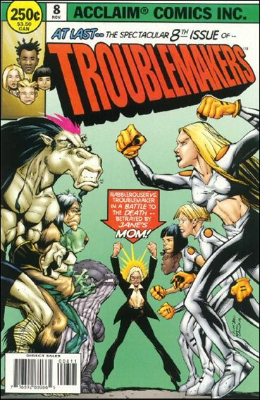 Troublemakers 8-A by Acclaim