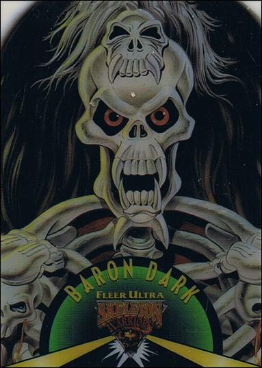 Fleer Ultra Skeleton Warriors (Suspended Animation Subset) 1-A by Fleer