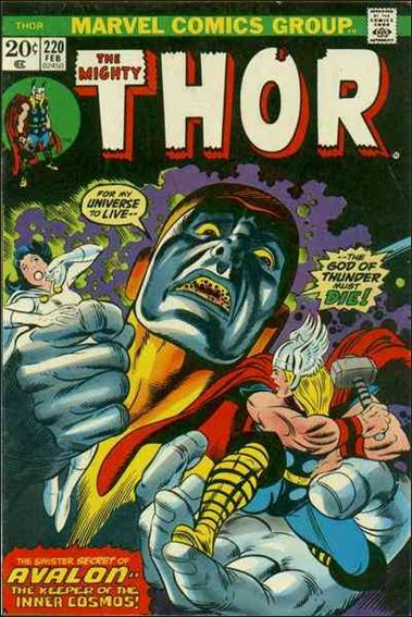 Thor (1966) 220-A by Marvel