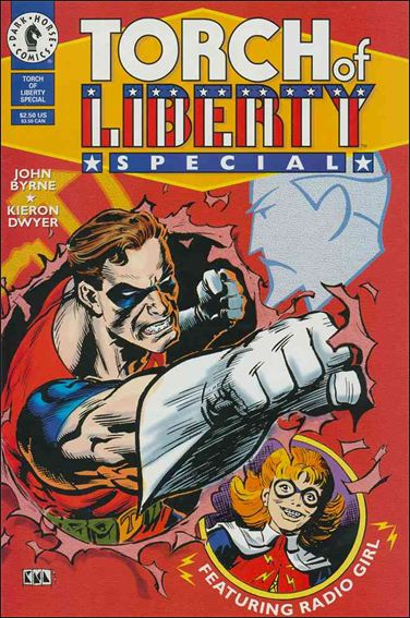 Torch of Liberty Special 1-A by Dark Horse