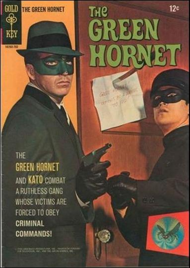 Green Hornet (1967) 1-A by Gold Key