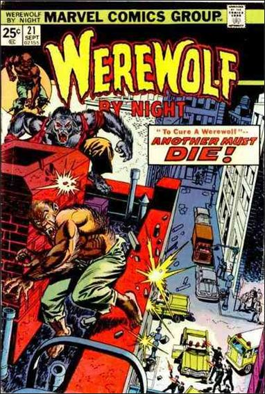 Werewolf by Night (1972) 21-A by Marvel