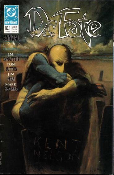 Doctor Fate Annual 1-A by DC