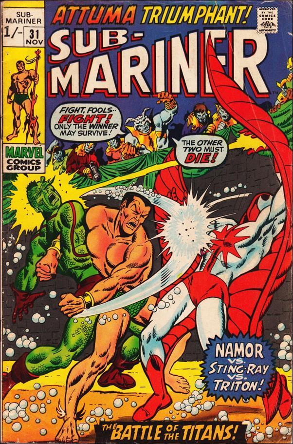 Sub-Mariner (1968) 31-B by Marvel