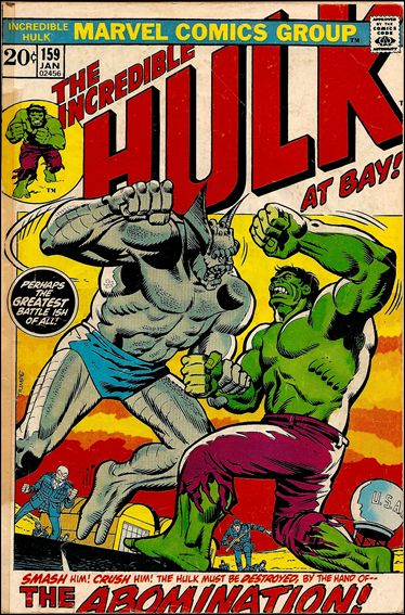 Incredible Hulk (1968) 159-A by Marvel