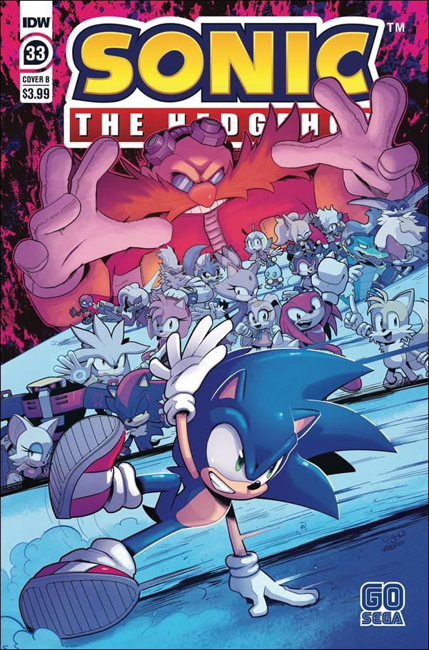 Sonic the Hedgehog (2018) 33-B by IDW