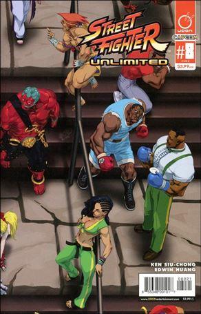 Street Fighter Unlimited 8-B
