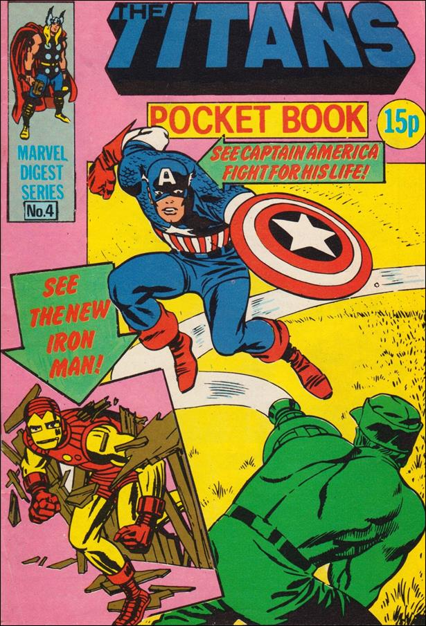 Titans Pocket Book (UK) 4-A by Marvel UK