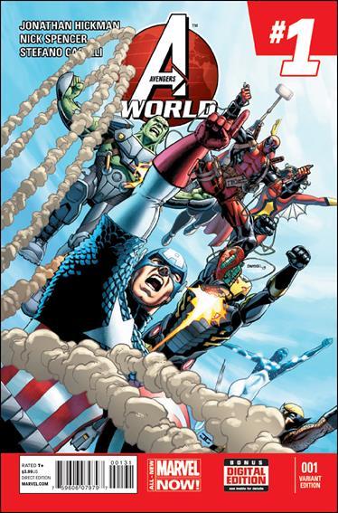 Avengers World 1-F by Marvel