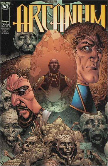 Arcanum 7-A by Top Cow