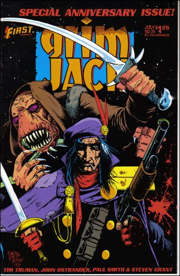 Grimjack 24-A by First