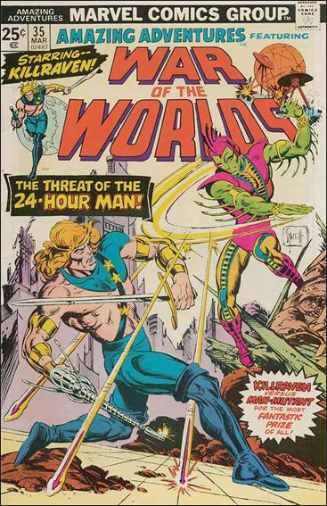 Amazing Adventures (1970) 35-A by Marvel