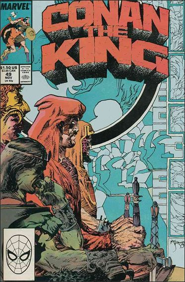 Conan the King 49-A by Marvel