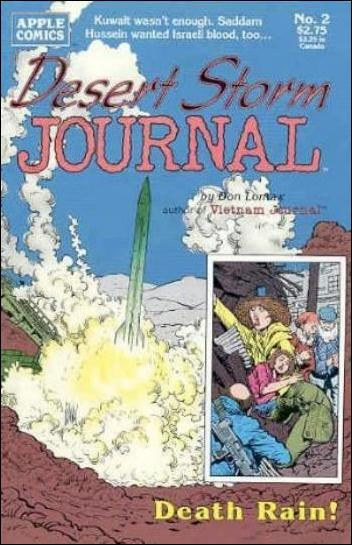 Desert Storm Journal 2-A by Apple