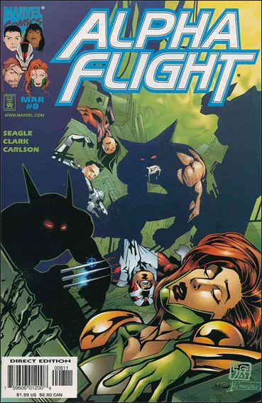 Alpha Flight (1997) 8-A by Marvel