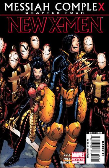 New X-Men (2006) 44-C by Marvel