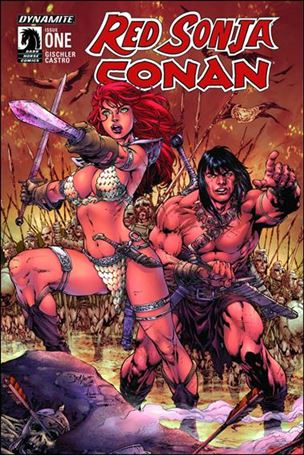 Red Sonja / Conan 1-B