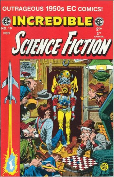 Incredible Science-Fiction (1994) 10-A by RCP