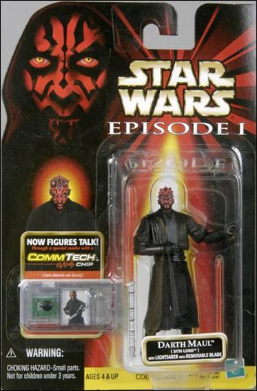 "Star Wars: Episode I 3 3/4"" Basic Action Figures Darth Maul (Stih Lord) (No Stickers) by Hasbro"