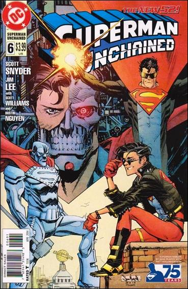 Superman Unchained 6-E by DC
