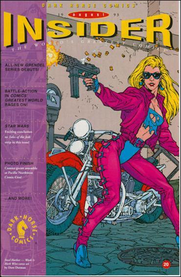 Dark Horse Insider (1992) 20-A by Dark Horse