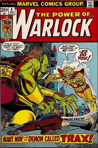 Warlock (1972) 4-A by Marvel