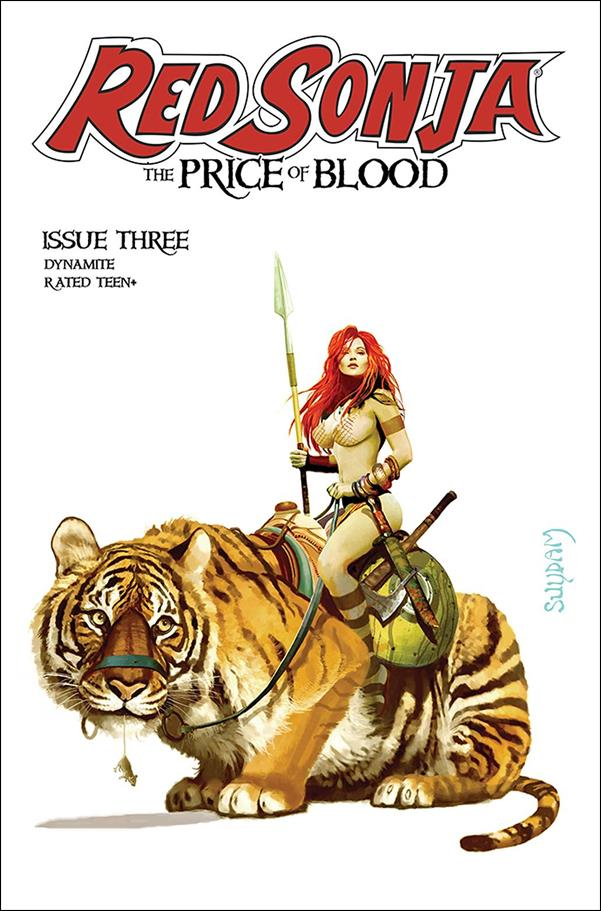Red Sonja: Price of Blood 3-A by Dynamite Entertainment