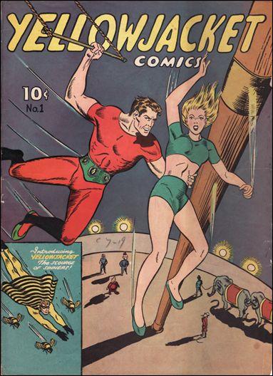 Yellowjacket Comics 1-A by Frank