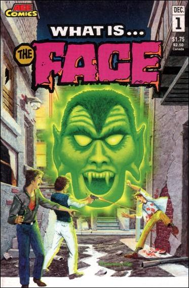 What is ... The Face 1-A by Animated Comics Enterprises (ACE Comics)