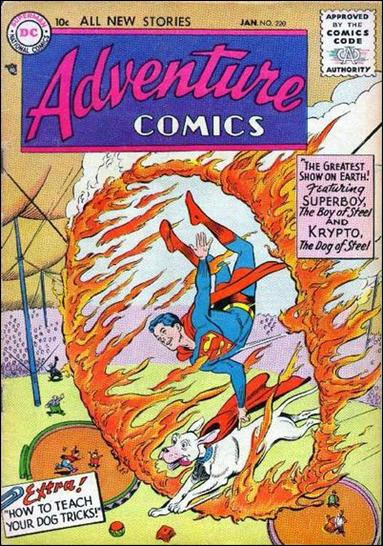 Adventure Comics (1938) 220-A by DC