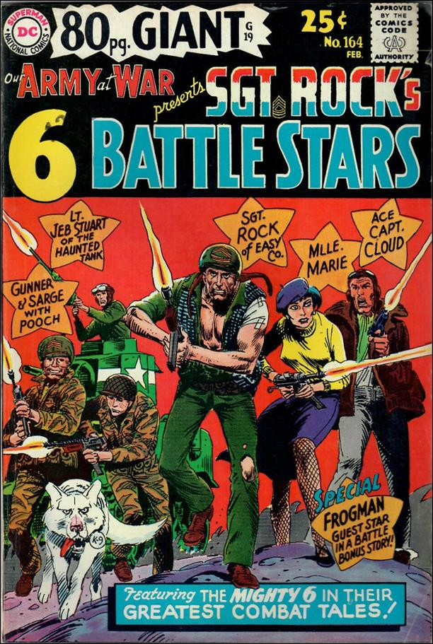 Our Army at War (1952) 164-A by DC
