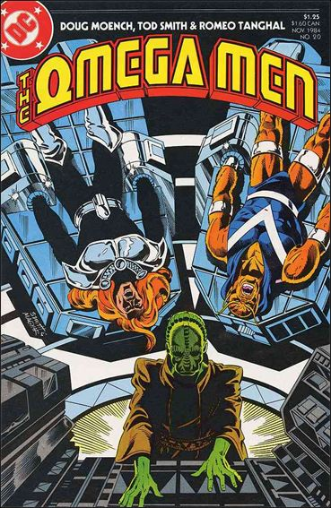 Omega Men (1983) 20-A by DC