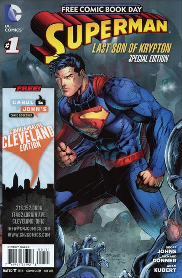 Superman: The Last Son of Krypton FCBD Special Edition 1-C by DC