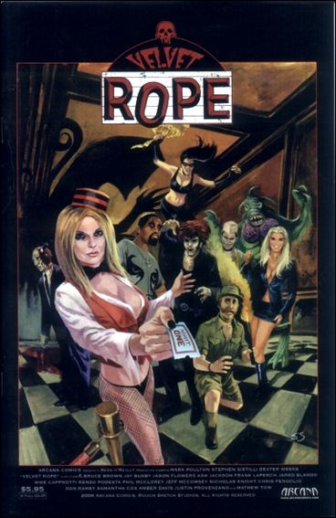 Velvet Rope Comic Book by Arcana Title Details