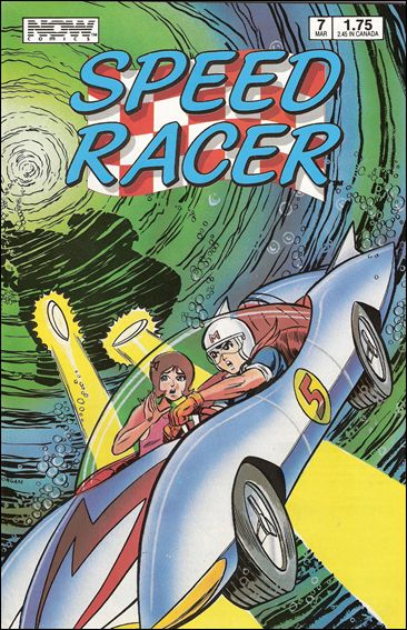 Speed Racer (1987) 7-A by Now Comics