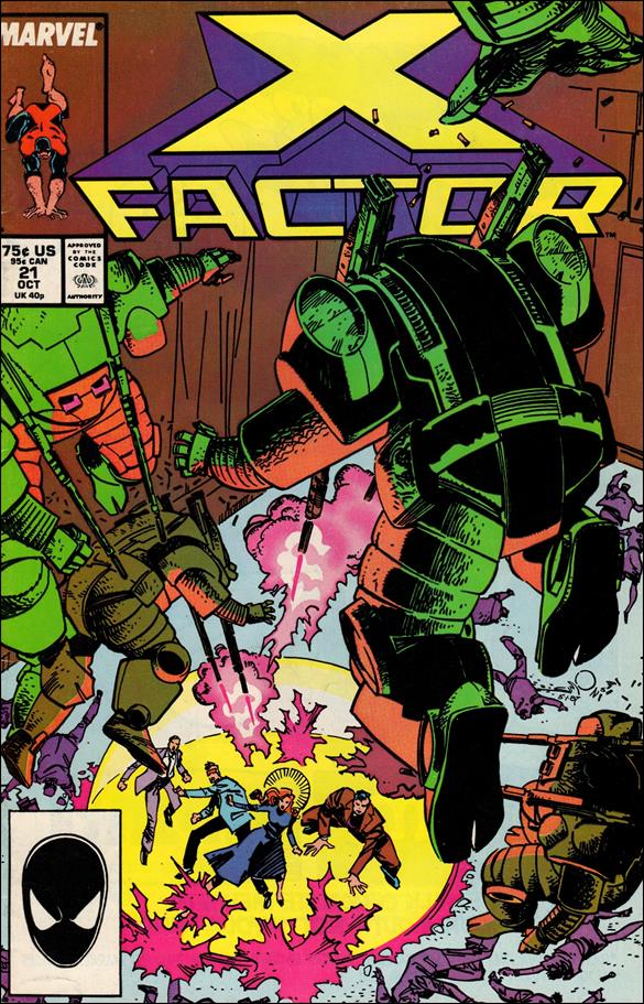 X-Factor (1986) 21-A by Marvel
