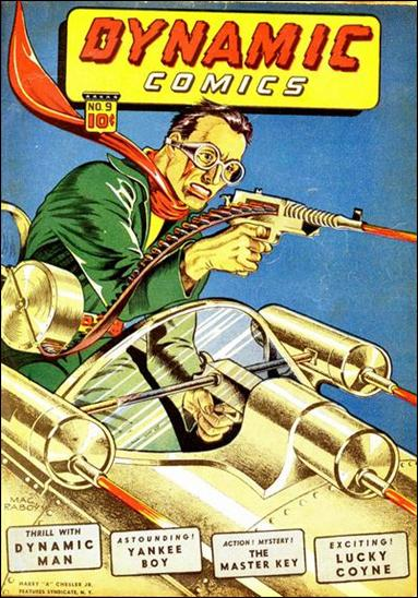 Dynamic Comics (1941) 9-A by Harry A. Chesler