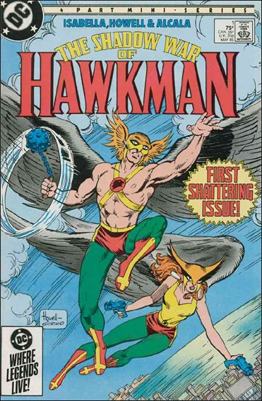 Shadow War of Hawkman 1-A by DC