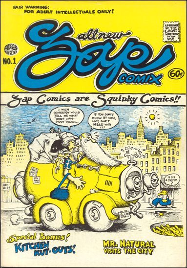Zap Comix 1-E by Last Gasp