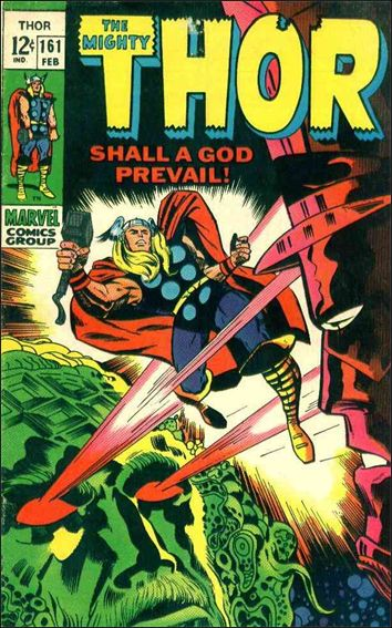 Thor (1966) 161-A by Marvel